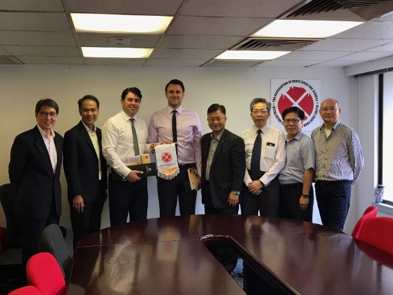 Meeting with Firesafe group and Council Member at FSICA office